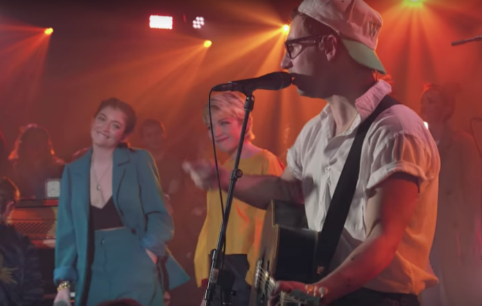 Lorde and Carly Rae Jepsen joined Bleachers for 'MTV Unplugged'