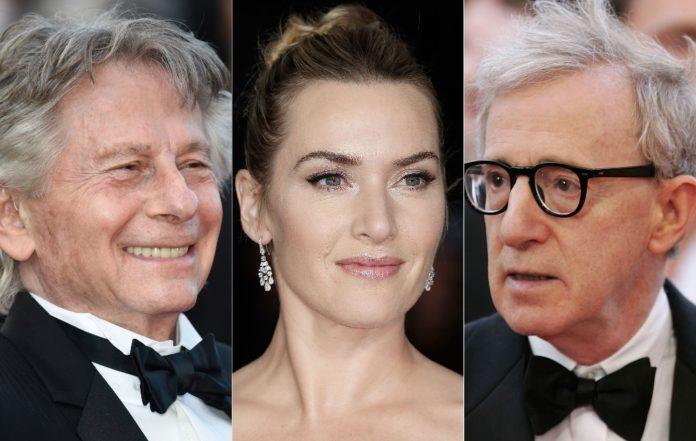 Roman Polanski, Kate Winslet, Woody Allen