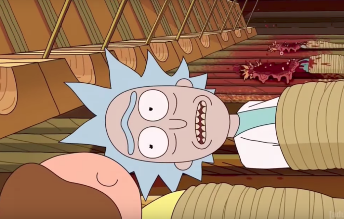 The 'Rick and Morty' theme got a metal makeover