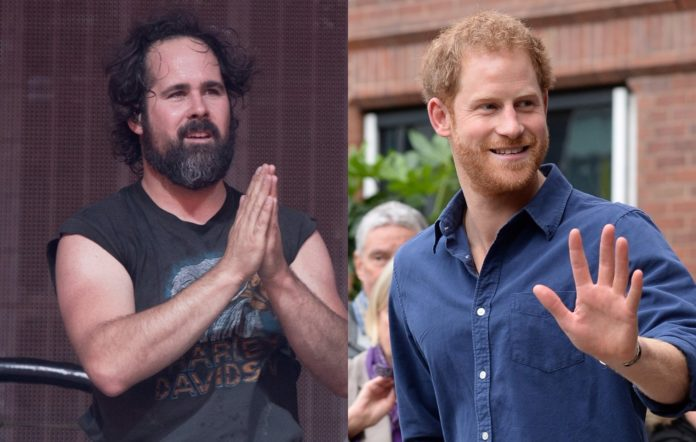 The Killers' Ronnie Vannucci Jr and Prince Harry