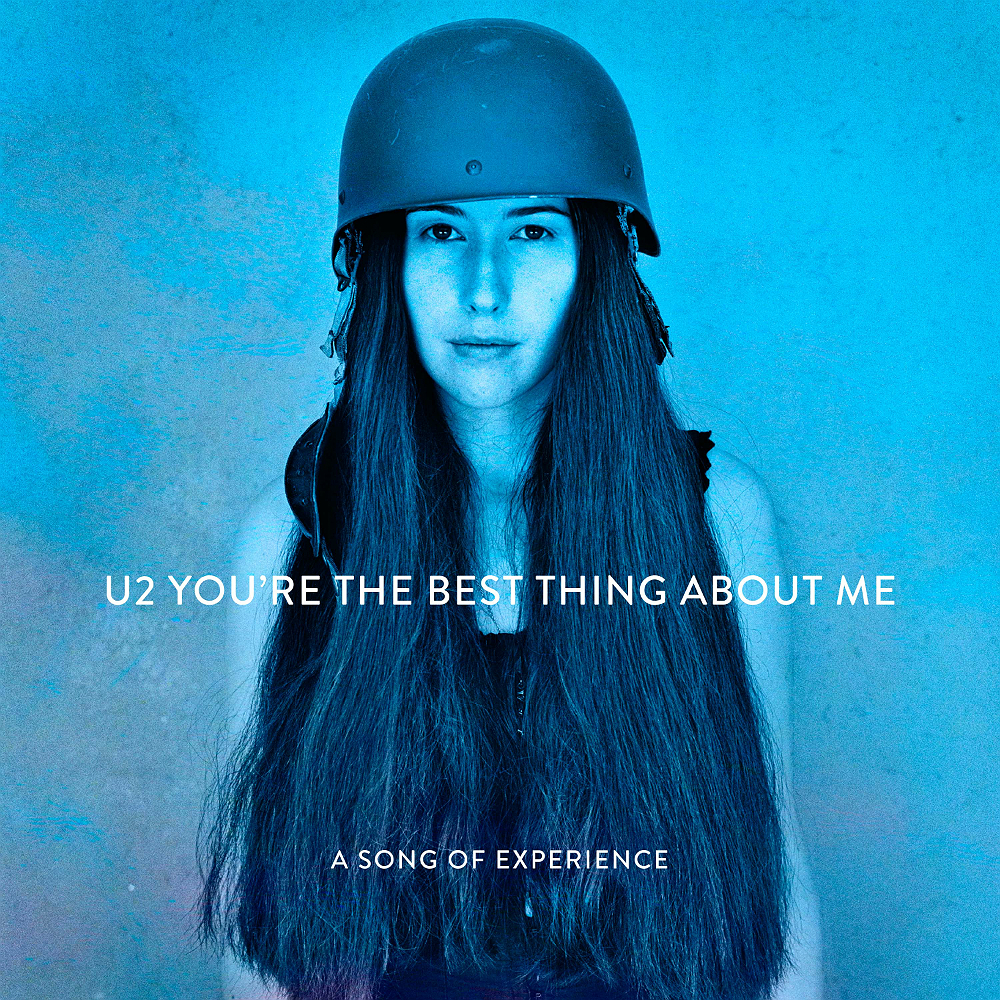 U2's artwork for new single 'You're The Best Thing About Me'