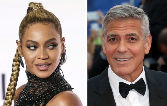 Beyonce George Clooney