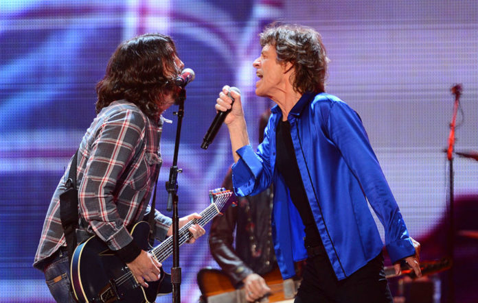 Foo Fighters back Mick Jagger