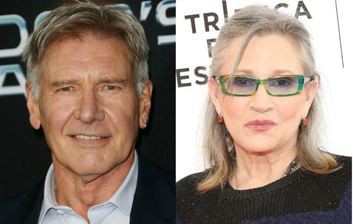 Harrison Ford Carrie Fisher questions