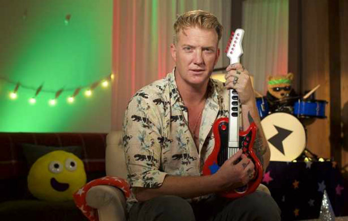 Queens Of The Stone Age's Josh Homme reading a CBeebies bedtime story
