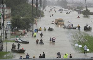 Houston flood Hurricane harvey