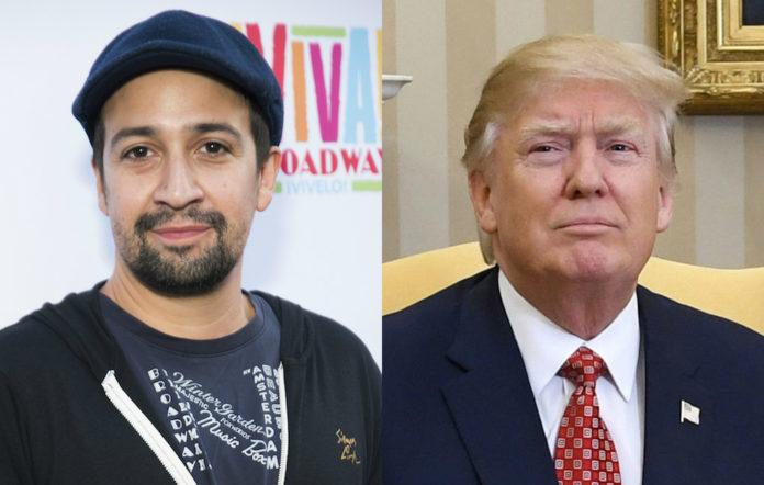 Lin-Manuel Miranda Donald Trump