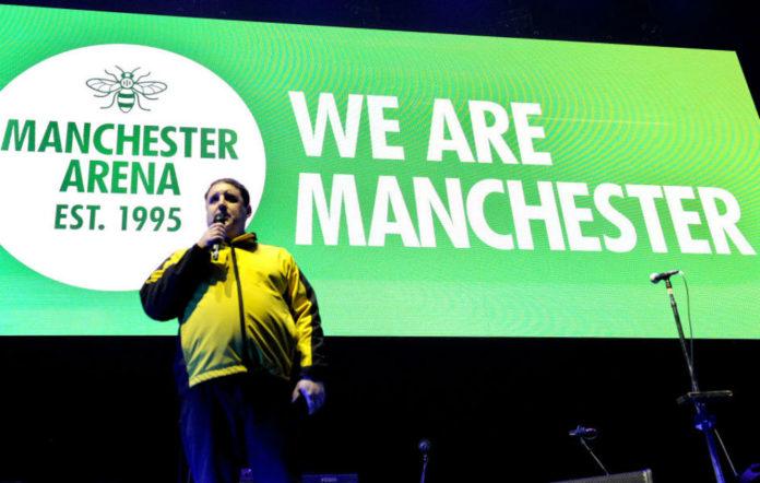 Peter Kay Manchester speech