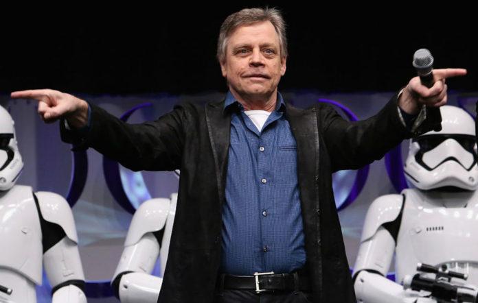 Star Wars Mark Hamill taller storm trooper