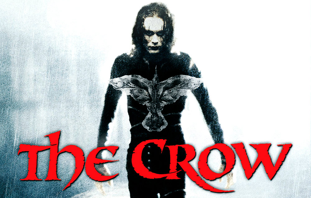 Brandon Lee in 'The Crow', 1994