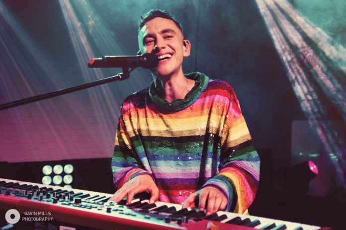Years & Years' Olly Alexander at the show