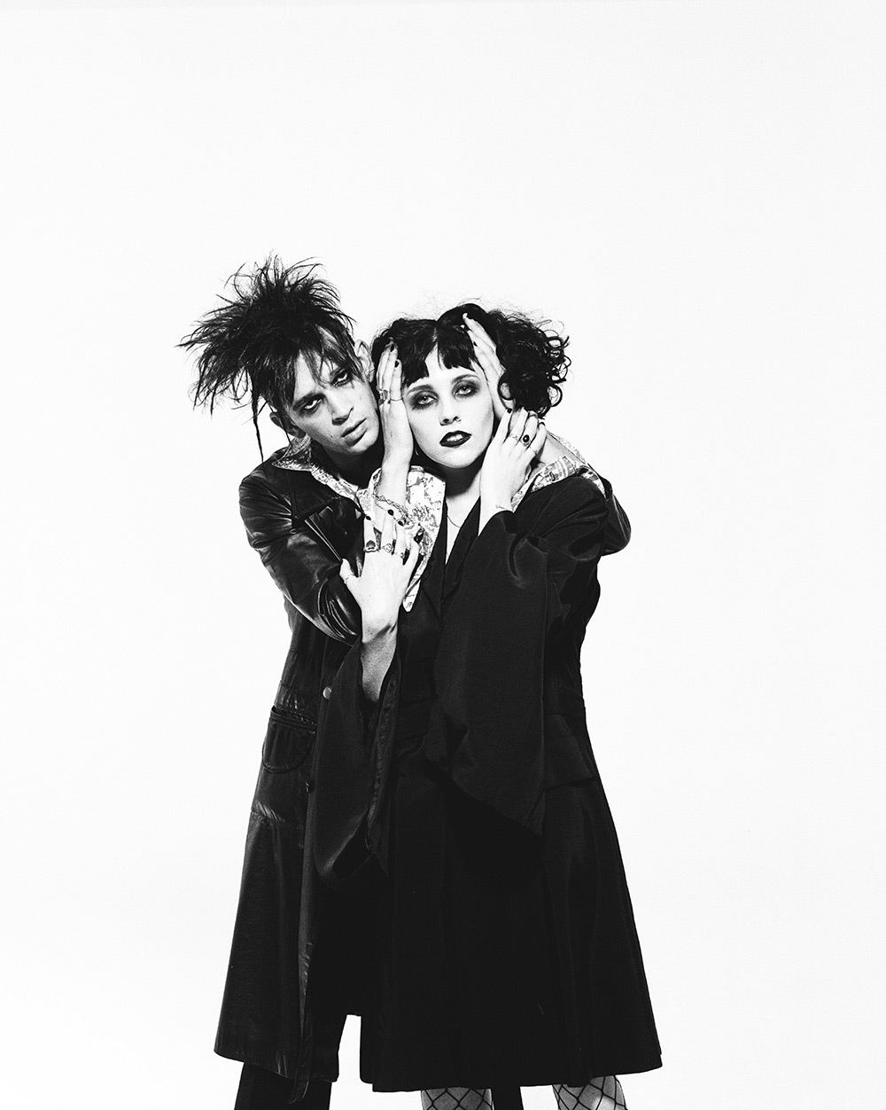 The 1975's Matty Healy and Pale Waves' Heather Baron Gracie