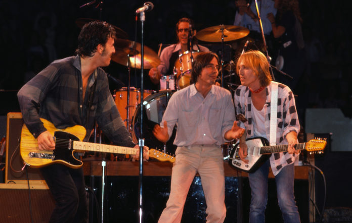Bruce Springsteen and Tom Petty