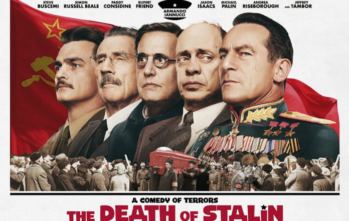 The poster for 'The Death Of Stalin'