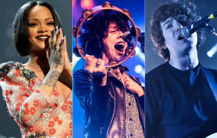 Rihanna, LP and The Kooks' Luke Pritchard