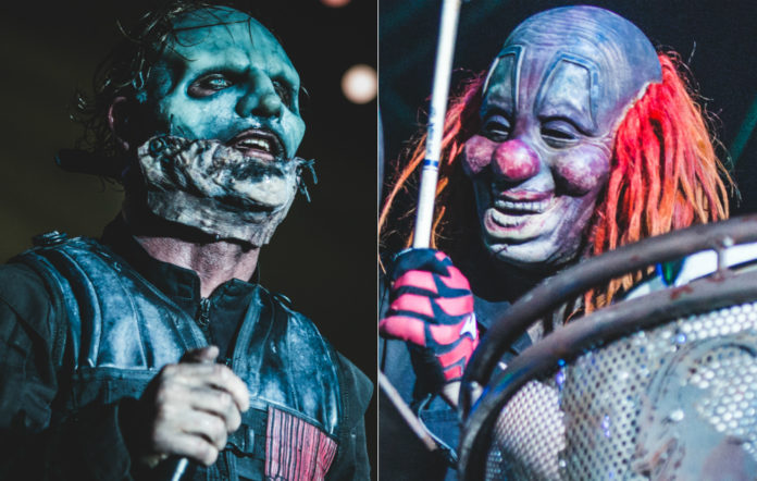 Slipknot's Corey Taylor and Shawn 'The Clown' Crahan