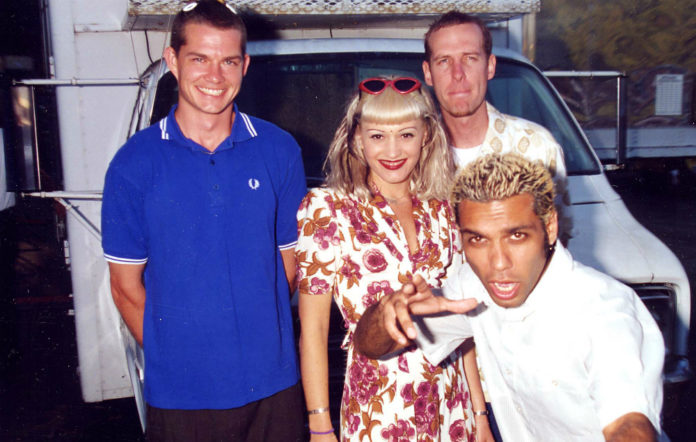 No Doubt at the 1996 KROQ Weenie Roast