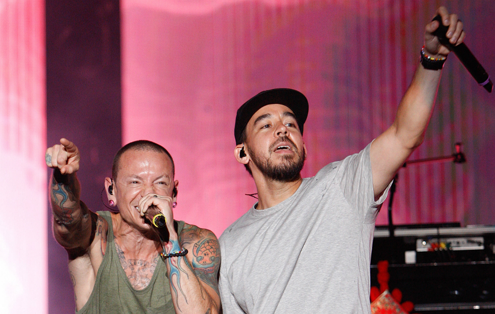 Linkin Park's Chester Bennington and Mike Shinoda