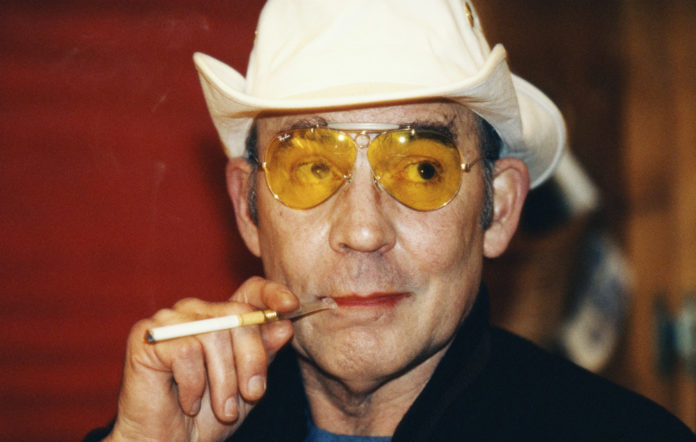 The late Hunter S. Thompson