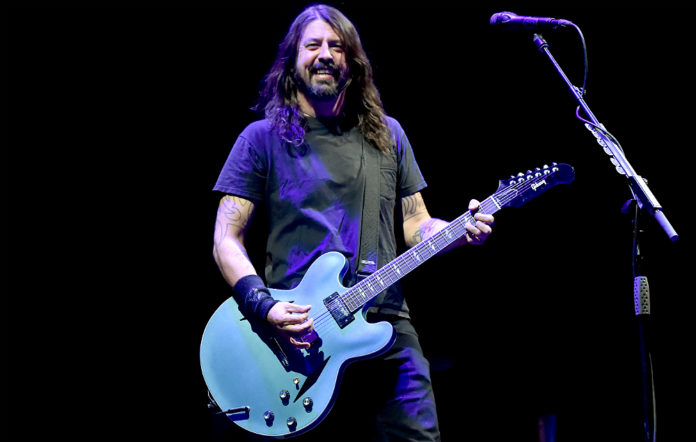 Foo Fighters' Dave Grohl live at Cal Jam 2017
