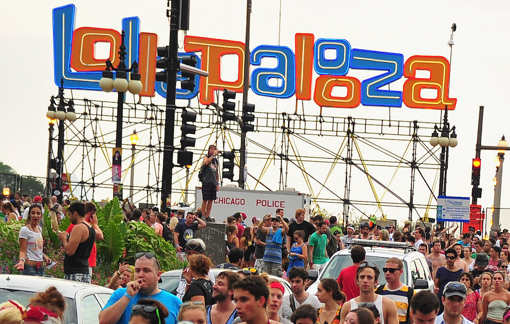 Lollapalooza in Chicago