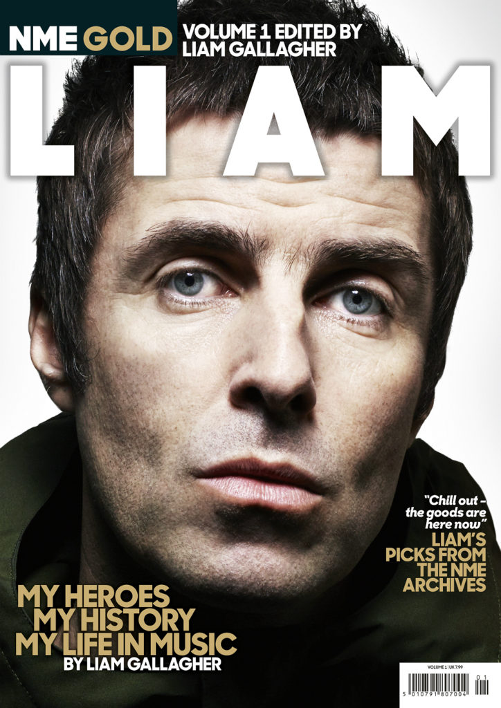 Liam Gallagher is the subject of the first ever edition of NME Gold