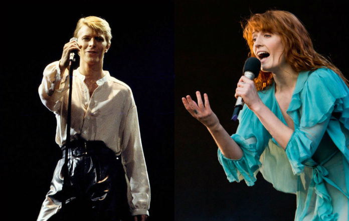 Florence Welch and David Bowie