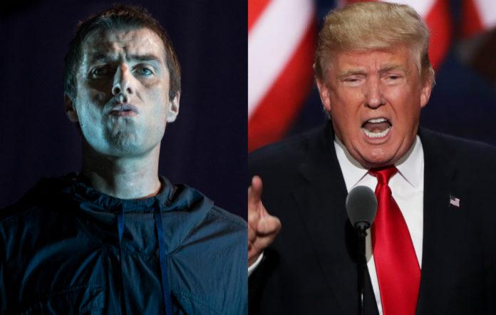 Liam Gallagher and Donald Trump