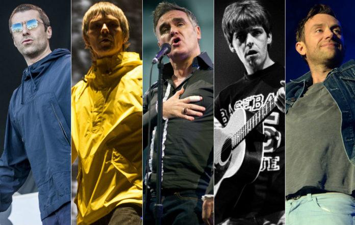 Liam Gallagher, Ian Brown, Morrissey, Lee Mavers, Damon Albarn