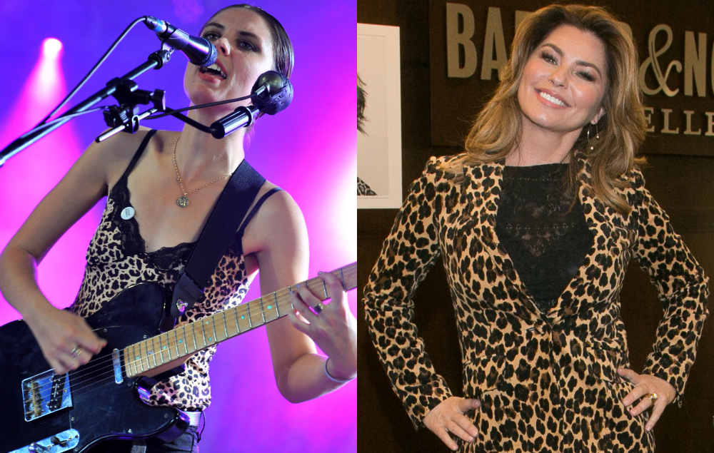 Wolf Alice's Ellie Rowsell and Shania Twain