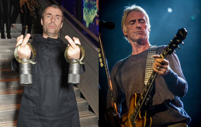 Liam Gallagher Paul Weller