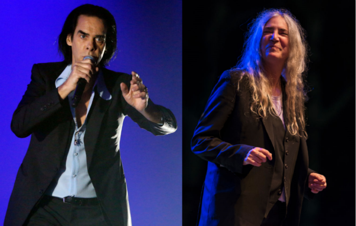 Nick Cave and Patti Smith