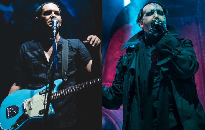 Placebo's Briano Molko and Marilyn Manson