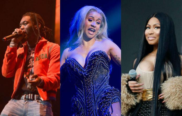 Cardi B Offset Nicki Minaj