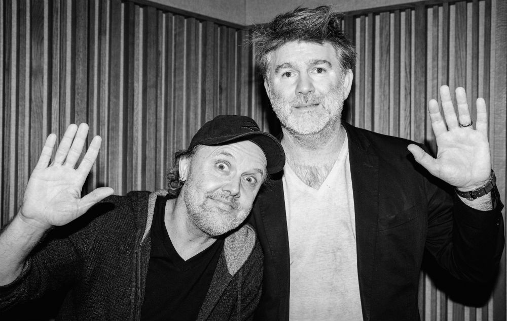 Lars Ulrich and LCD Soundsystem's James Murphy
