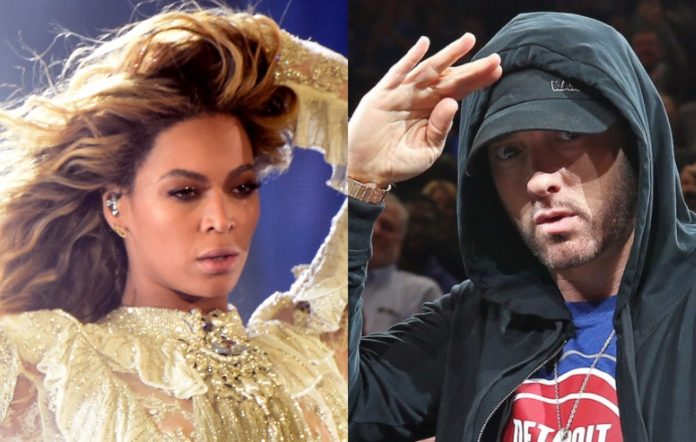 Beyonce and Eminem