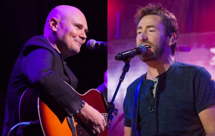 Billy Corgan and Chad Kroeger