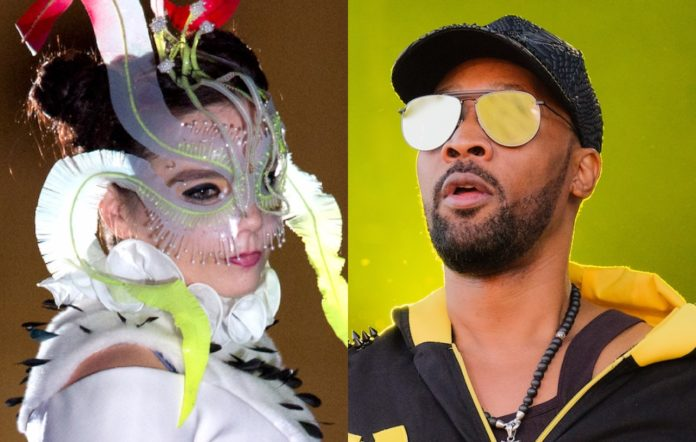 Björk and RZA