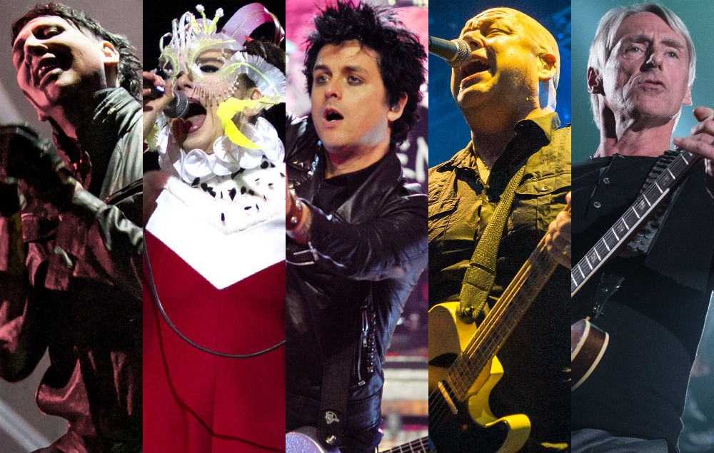 Marilyn Manson, Bjork, Billie Joe Armstrong, Pixies' Black Francis and Paul Weller