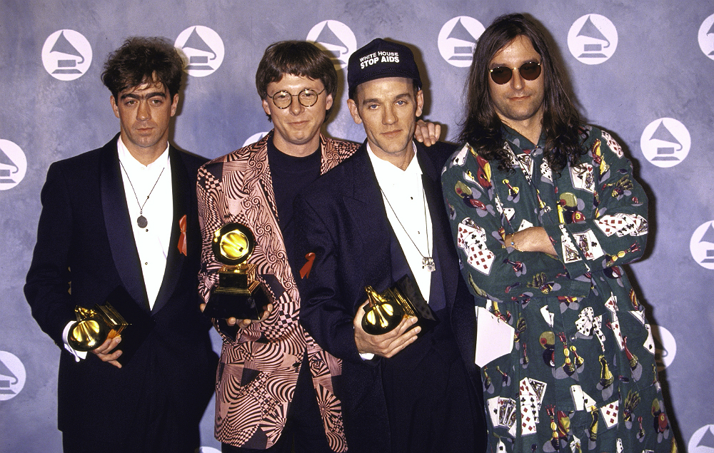 R.E.M. at the 1992 GRAMMYs