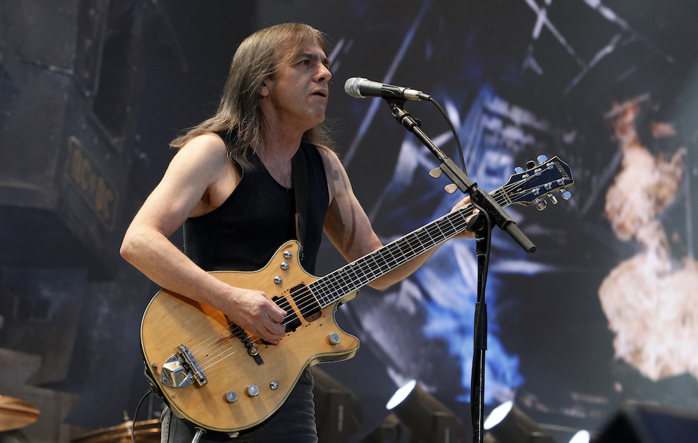 Malcolm Young last ever gig