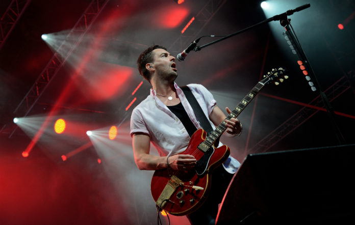 The Courteeners' Liam Fray live at Sziget Festival