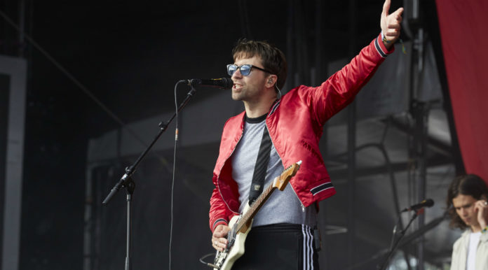 The Vaccines' Justin Young live at Lollapalooza Berlin