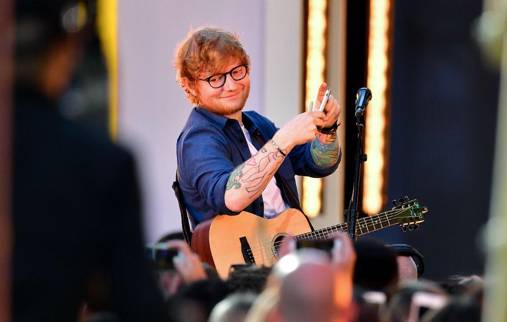 Sheeran naked ed Is Ed