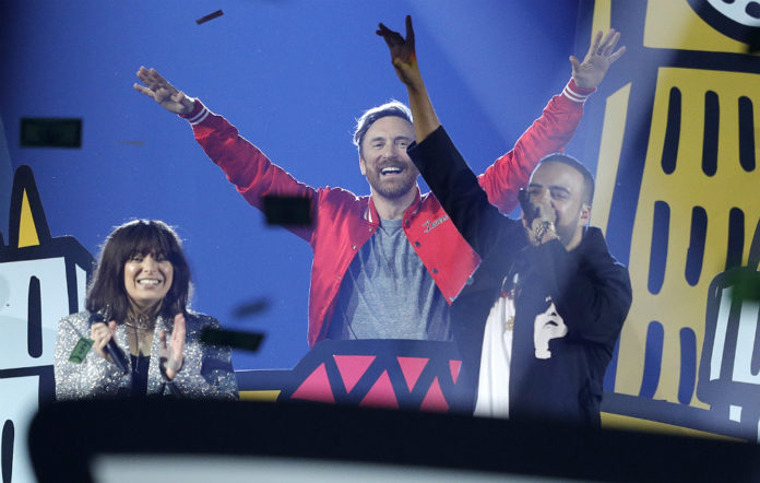 Charli XCX, David Guetta and French Montana
