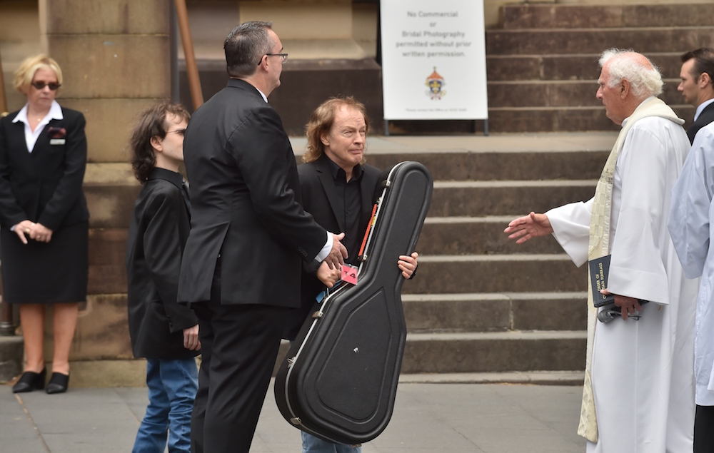 Malcolm Young funeral