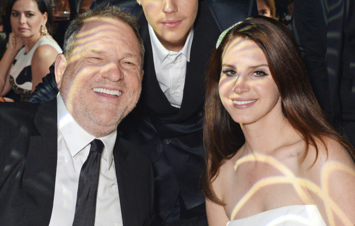 Harvey Weinstein and Lana Del Rey