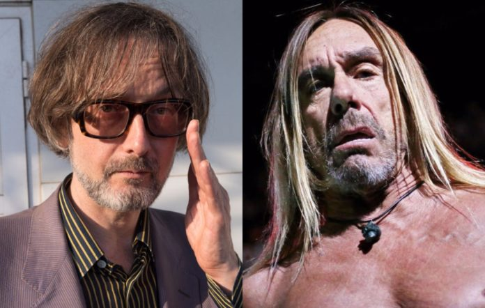 Jarvis Cocker and Iggy Pop
