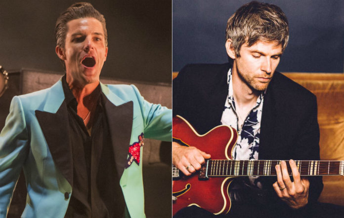 The Killers' Brandon Flowers and former Kaiser Chief Nick Hodgson