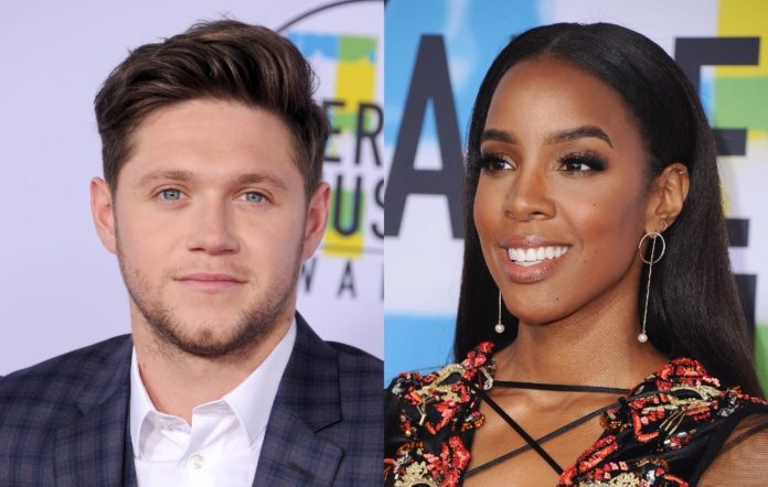 Niall Horan and Kelly Rowland